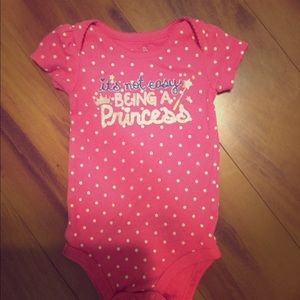 Cute girls onesie size 9 months